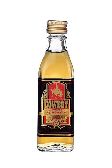 Picture of Cowboy Whisky 50 ML.